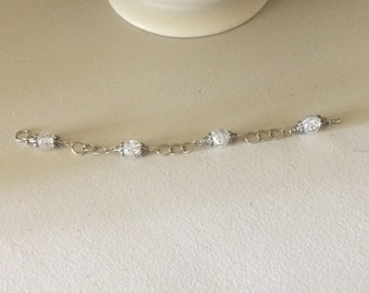 2nd Sunday Collection- White Chain Bracelet