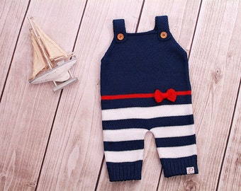 Baby rompers Navy maritime