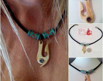 Handmade necklace Unisex etnico-navajo / Unisex necklace handmade ethnic style
