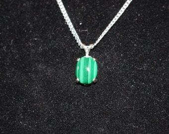 Genuine Malachite Pendant
