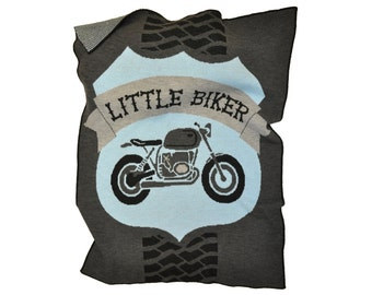 Motorcycle Blanket for Toddlers