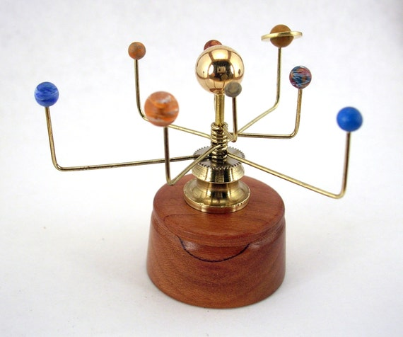 brass solar system model - photo #13