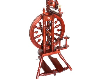 Kromski Minstrel Spinning Wheel With 75 Dollar Instant Shop Coupon & Free Shipping!
