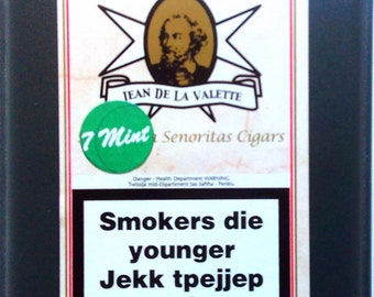 Mint Senorita cigars