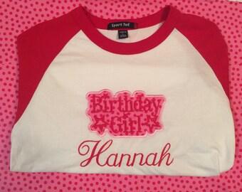 American Girl Birthday Shirt