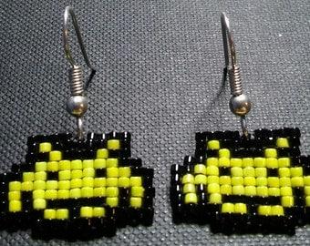 Space Invader Earrings