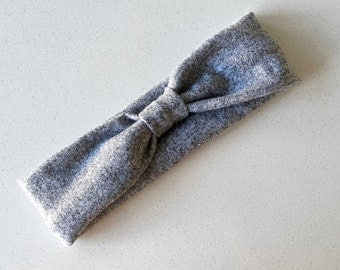 Headband baby children adult - grey