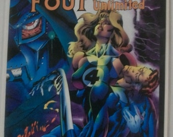 1994 Fantastic Four Unlimited #8 Doomed  VF-NM Unread Vintage Marvel Comic Book