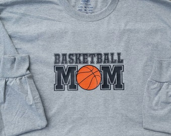 Basketball Mom, Basketball Shirt, Sports Shirt, Sports Mom, Personalized Gift, Sports Shirt