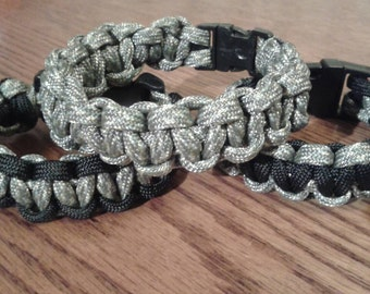 Cobra weave braided paracord bracelets/cobra weave paracord rifle sling