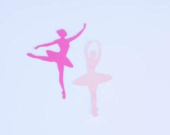 Ballerina Confetti, Dance Confetti, Ballet Birthday, Dance Party, Dance Birthday, Confetti, Set of 30