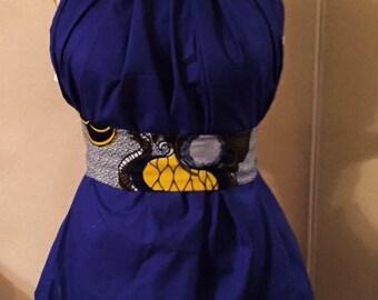 KUSH Royal Blue mini dress