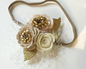 Harriet's Flower Girl Headband