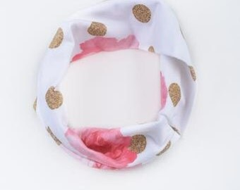 Golden Peas Eternity Scarf (6m to 36m) Free Shipping
