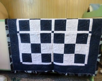Baby Blanket and Burp Cloth