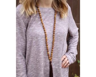 Single Wrap Necklace