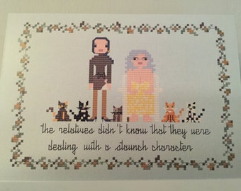 Grey Gardens (the film) blank greeting card