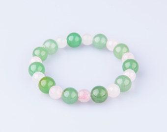 "Helps Stop BedWetting in Children. ""Tender Embrace"" Gemstones, Beaded, Healing Bracelet. Suitable for Kidney and Bladder Disease Treatment"