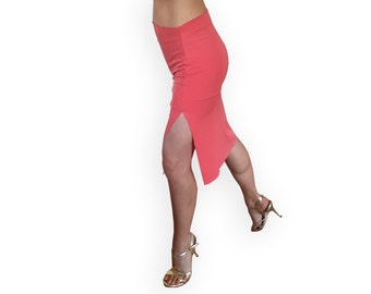 Tango Pencil Skirt with Side Slit