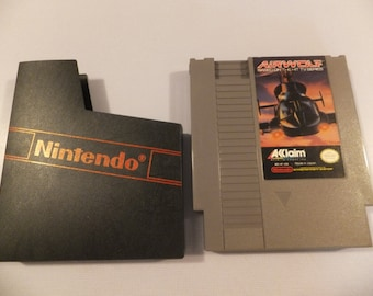 Airwolf Original NES Nintendo Vintage Video Game Cartridge