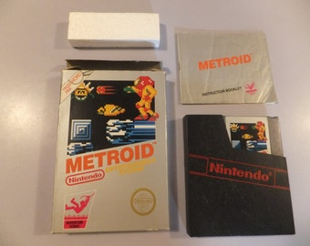 Metroid Original NES Nintendo Vintage Video Game Complete