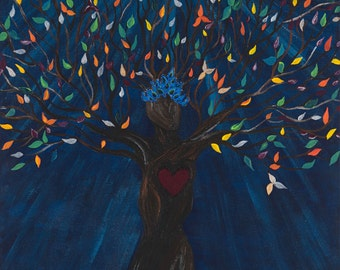 Tree Goddess (Giclee or Ready to Frame)
