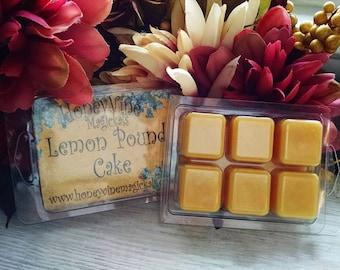 Lemon Pound Cake Soy Wax Tart Melt