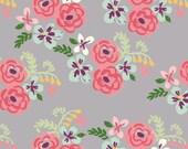 QUILTING COTTON: Monaluna Flora Organic Poplin. Sold by the 1/2 Yard