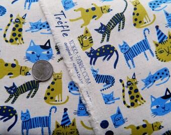 Kitty Cats Trefle By KOKKA Fabrics Japan