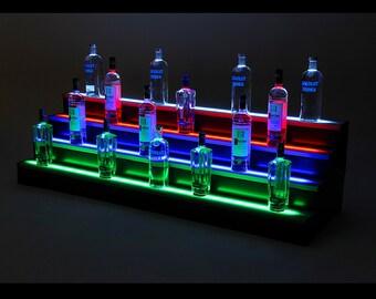 2ft, 4 Step LED Light Shelf Tier | 2 Ft