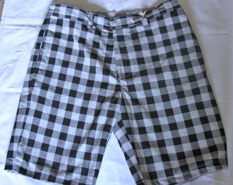 H By Lucas - Reversible Shorts Smokey Grey and Black