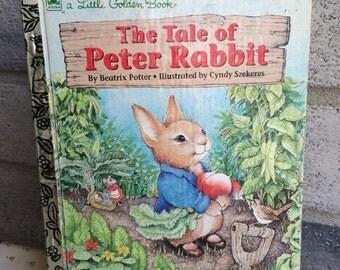 Tale of Peter Rabbit Little Golden Book, Peter Rabbit
