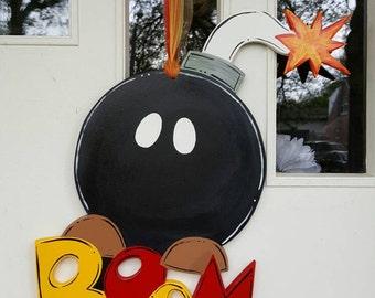 Boom Bomb door hang