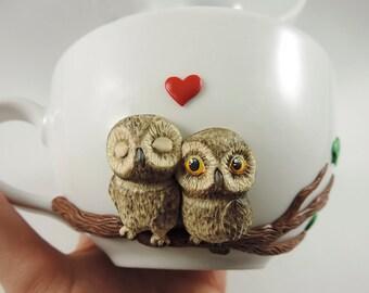 Clay Owl Etsy