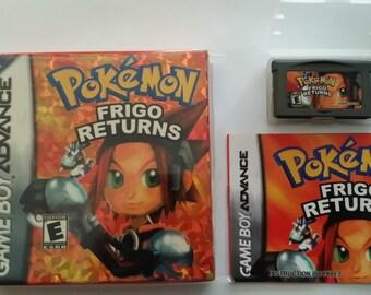 Pokemon Frigo Returns Complete GBA