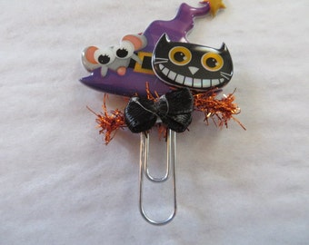 Purple Witch hat paperclip