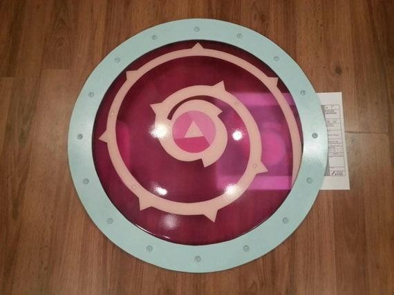 Steven Universe Transparent Rose Quartz Shield By