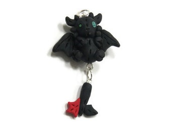 Polymer clay Toothless