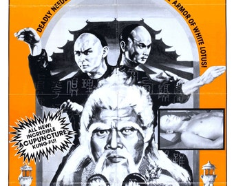 Clan of the White Lotus 1980 Drama/Action Movie POSTER A Shaw Brothers Presentation