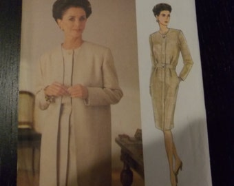 Sewing pattern Vogue 8756 Misses' jacket and dress new uncut size 14 to 18
