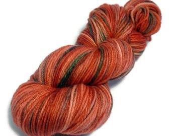 Flowering Gum - Harvest DK - 100% Wool, Superwash - handdyed yarn - 8ply. 100grams/217metres. Ready to Ship