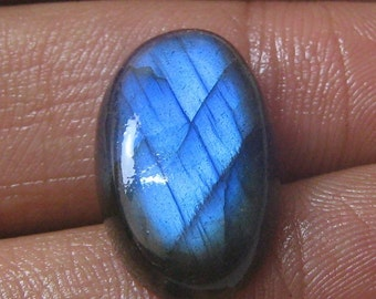 Natural labradorite cabochon oval shape loose semi precious gemstone cabochon size 13 x 21 mm approx  code 1072 wholesale gemstone
