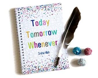 A5 Islamic Notebook, Planner, Jotter, Organiser, Diary