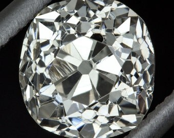 1.13 Carat Old Mine Cut Antique Diamond Certified Stone Vintage Cushion Appraised 1ct I VS2 Victorian  9191