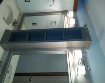 Double Sink Counter Cabinet