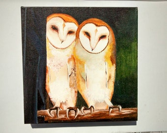 Painel owl gossiping