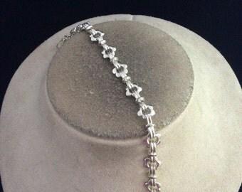 Vintage Floral Linked Bracelet