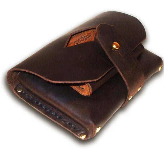 handmade leather belt pouch 3rd time lucky