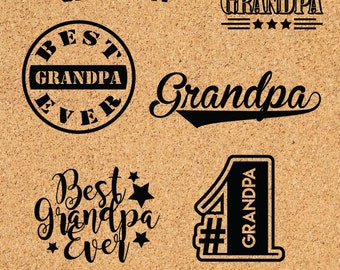 Grandpa  SVG files, Grandparents Day svg, Fathers day gifts, Gifts for grandpa,  ID#CDG