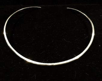 Signed Sterling Silver Choker